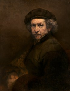 Rembrandt van Rijn - Self-Portrait - Painting - Andrew W. Mellon Collection - 1937.1.72