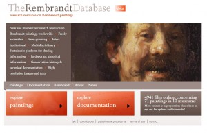 Website: The Rembrandt Database