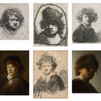 Rembrandt in der Europeana